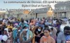 La communauté de Denver (USA) rend hommage aux 5 Sénégalais tués dans l'incendie du 5 Août 2020