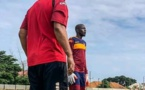 ARRÊT SUR IMAGE : KHADIM NDIAYE REPREND L'ENTRAINEMENT