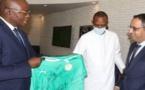 Présidence de la Caf : Des émissaires d'Augustin Senghor en Mauritanie
