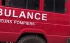 Grave accident à Grand Standing Thiès: Une fille qui apprend à conduire fauche 6 enfants