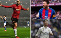 FOOTBALL : Ibrahimovic tacle Cristiano Ronaldo pour Messi