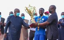 Ligue 1 – 26ème journée: Teungueth FC reçoit son trophée dans une ambiance festive